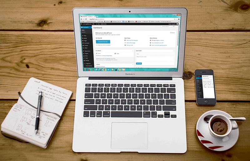 Wordpress webdesign professional